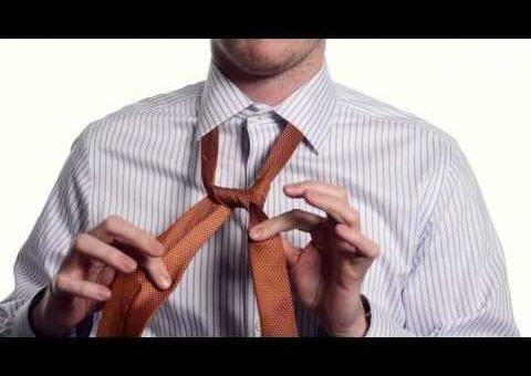 узел элдридж,завязать галстук,способ завязывания галстука,как завязать галстук,