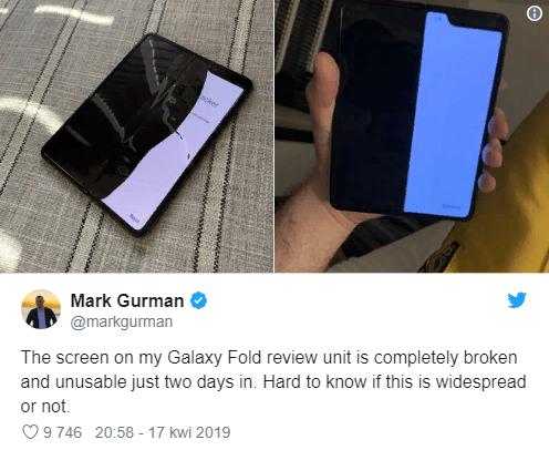 Galaxy Fold,отзывы о Galaxy Fold,обзор Galaxy Fold,складные смартфоны samsung,Samsung,Samsung передал Galaxy Fold
