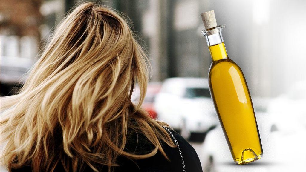 масло на волосы