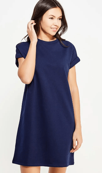 синее платье,темно-синие платье,с чем носить темно синее платье,аксессуары к темно-синему платью