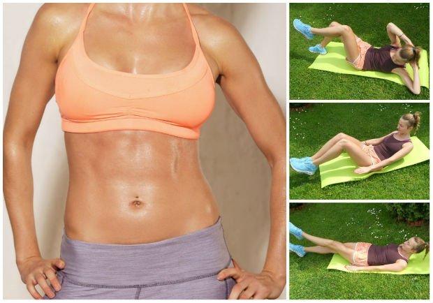 5 эффективных упражнений для похудения
