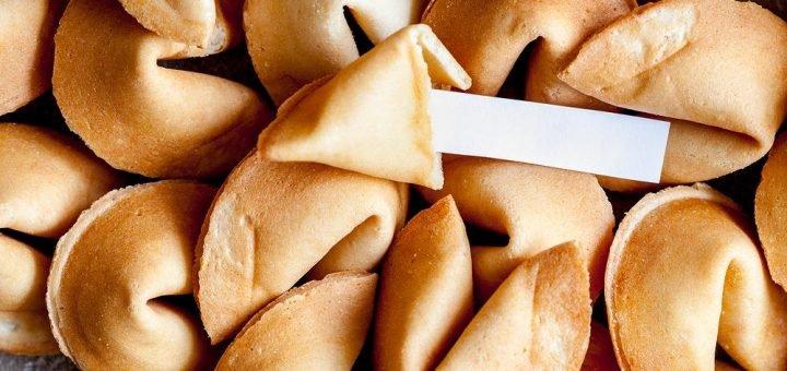 предсказания в печенье