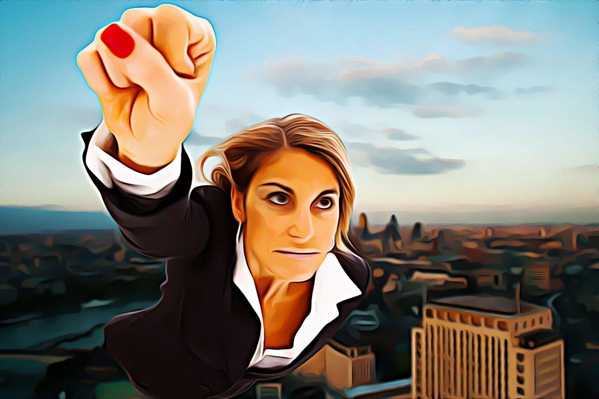 Смешные картинки бизнес леди