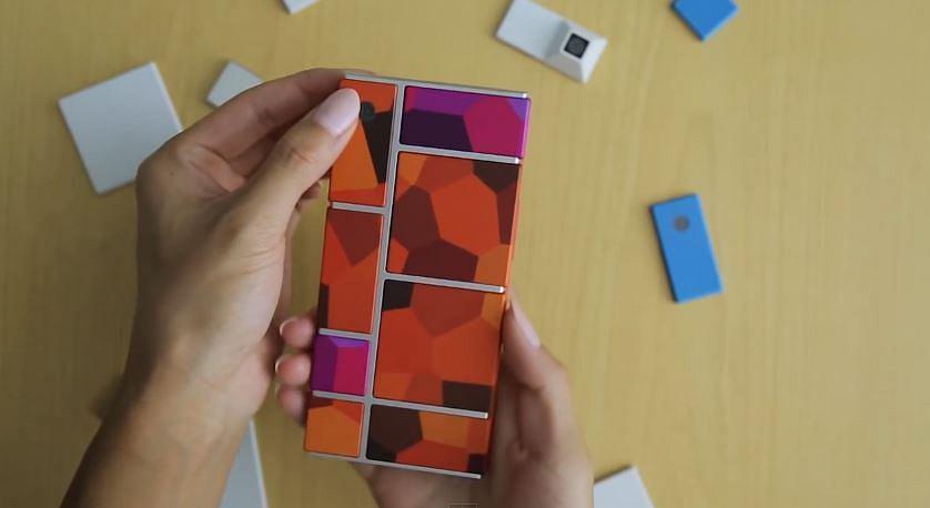 Z16916435ihprototyp Smartfonu Project Ara