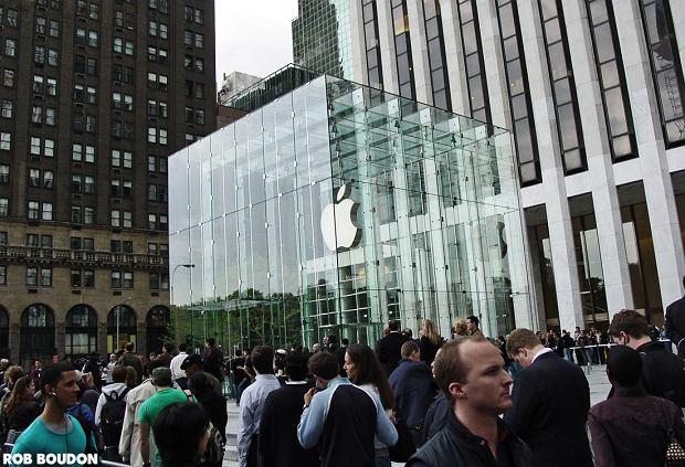 Z9275212qnowojorski Apple Store Na Piatej Alei