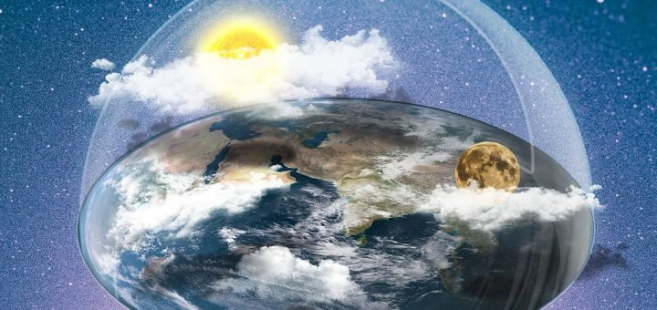 Земля не плоская, хотя некоторые в это верят