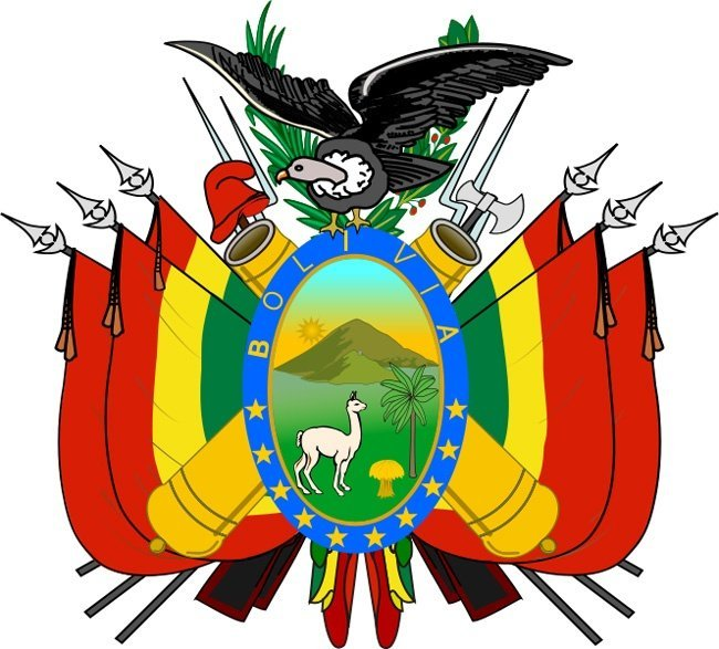 1 5 Bolivia Coat Of Arms