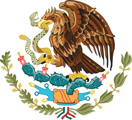 3 Mexico Coat Of Arms