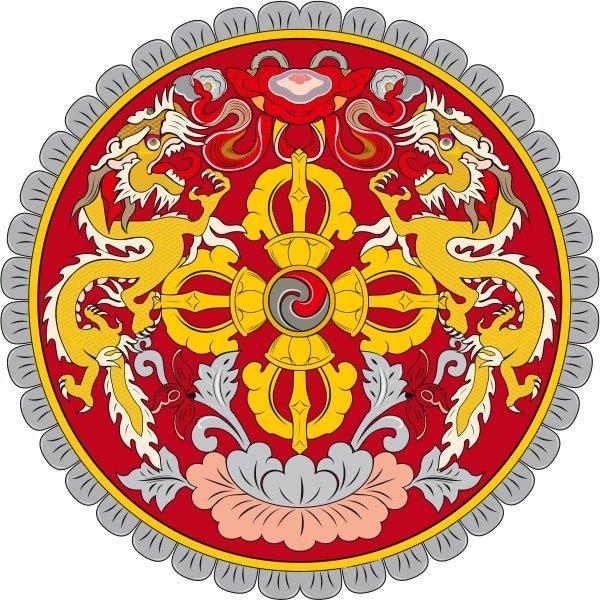 6 Bhutan Coat Of Arms
