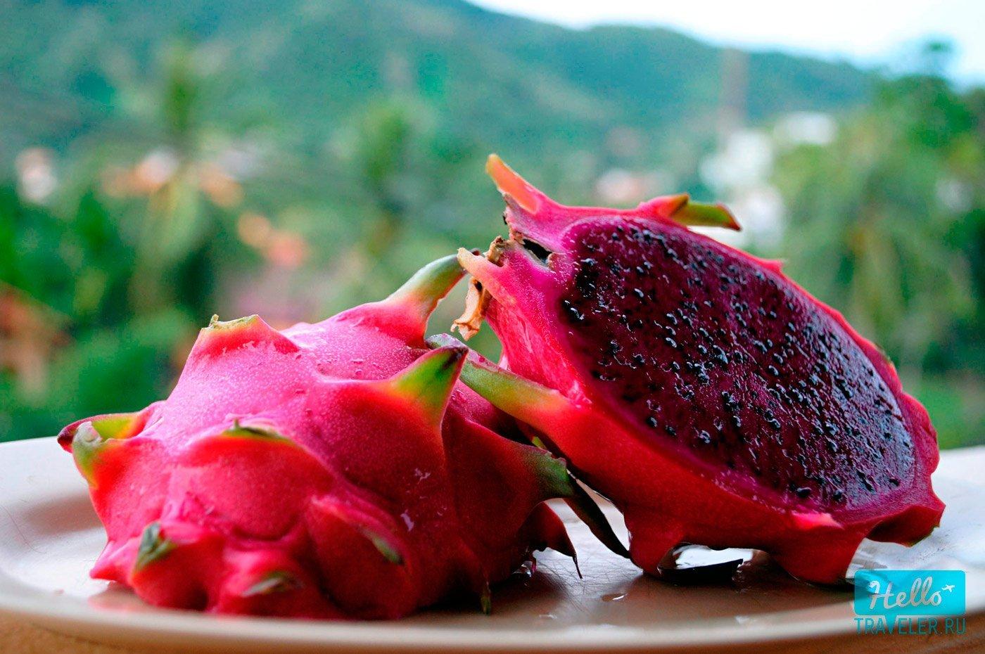 7 Питахайя, Драконий фрукт