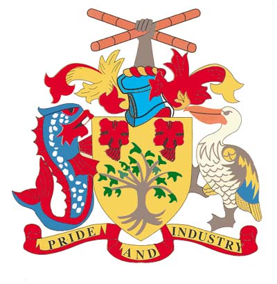 8 Barbados Coat Of Arms