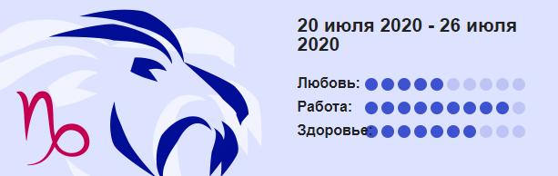Kozerog 20 Iyulya