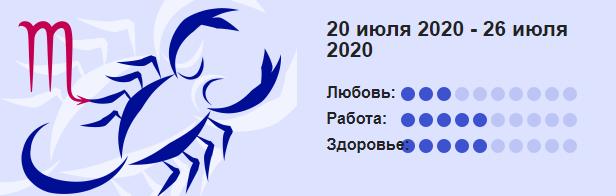 Skorpion 20 Iyulya