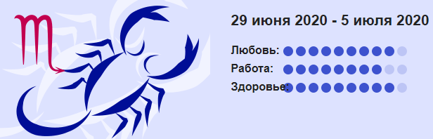 Skorpion 29 Iyunya