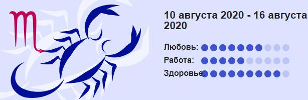 10 Avgusta 2020 Skorpion