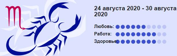 24 Avgusta 2020 Skorpion