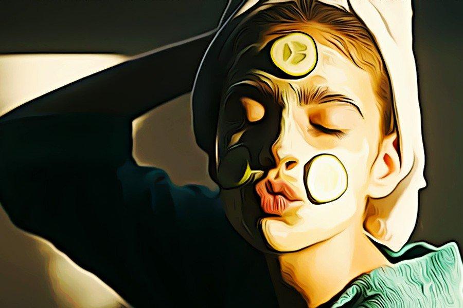 Maska Iz Ogurtsov V Domashnih Uslovaiyah