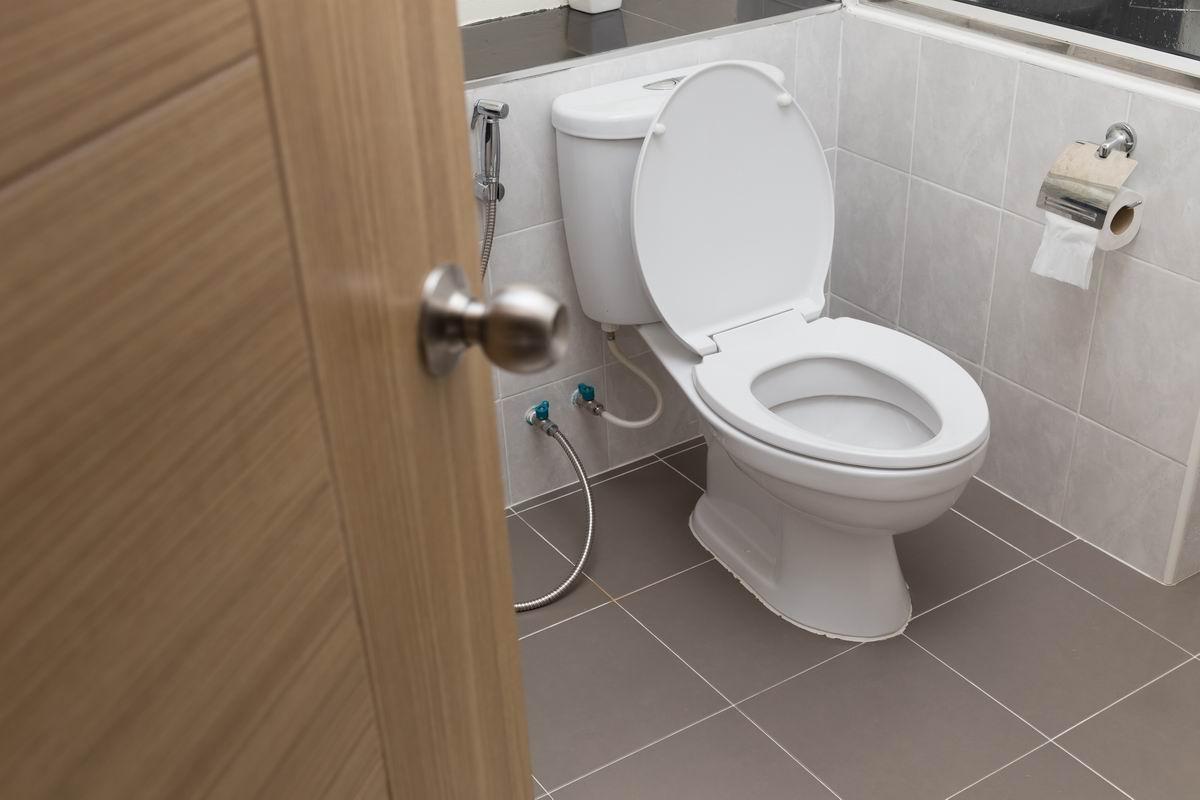 освежить туалет