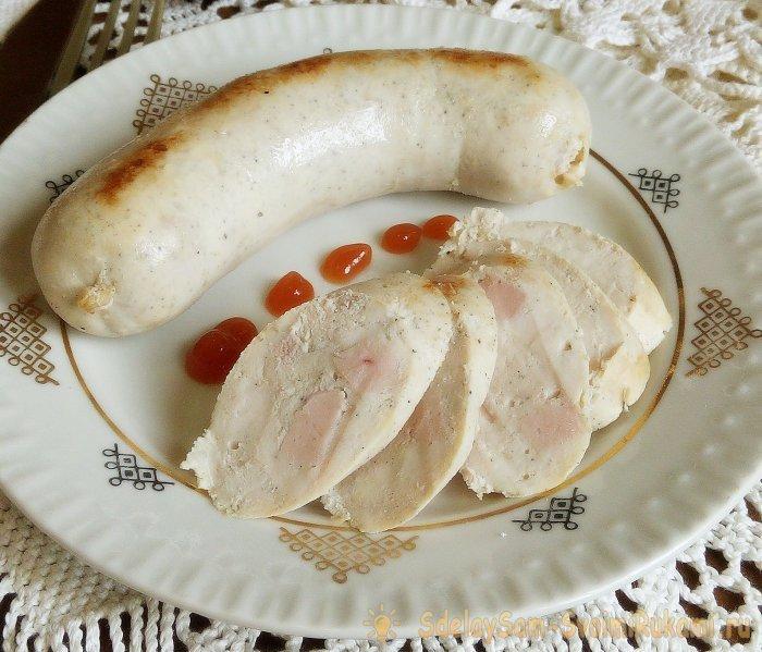 колбаса из куры