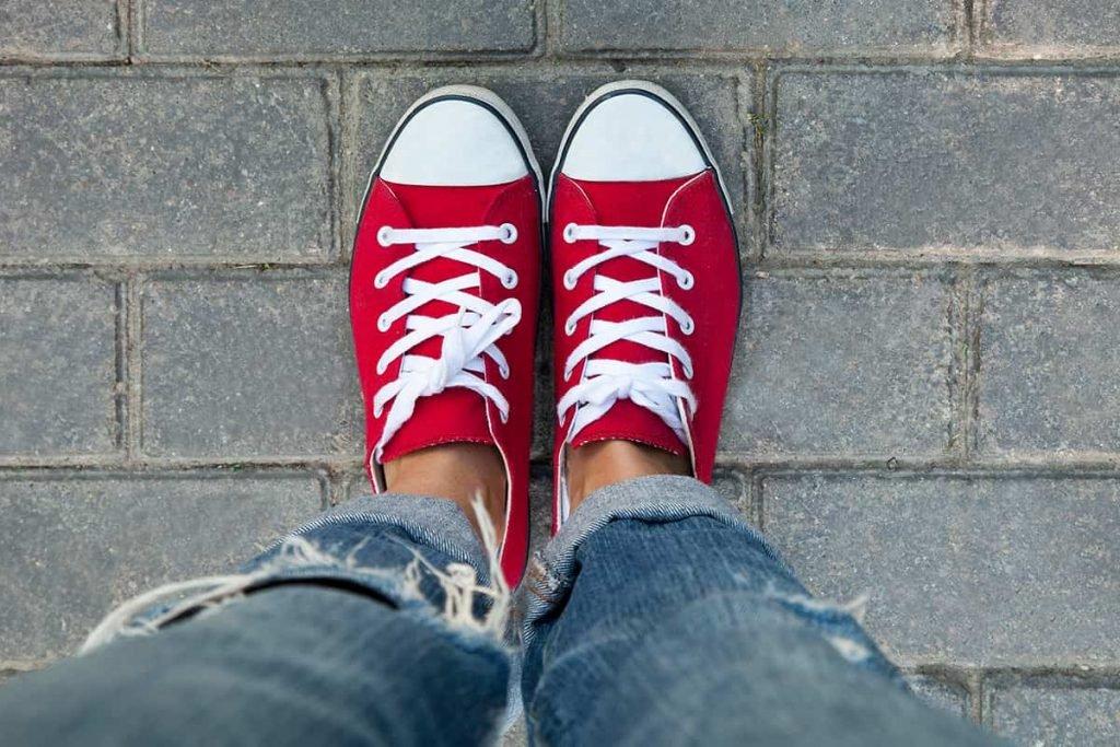 чистые шнурки