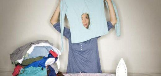 как гладить белье