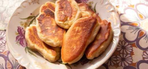 Пирожки на сковороде без дрожжей