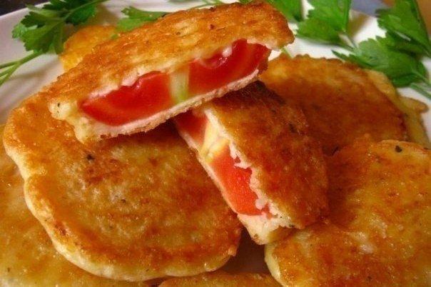 Рецепт помидоров в кляре