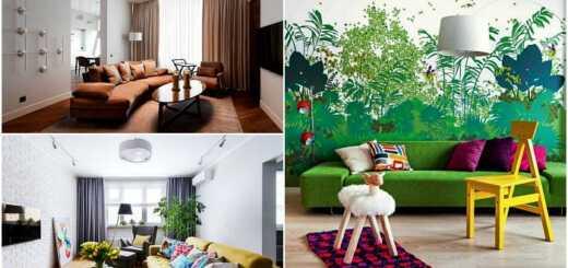 Дизайнерские идеи для гостиной