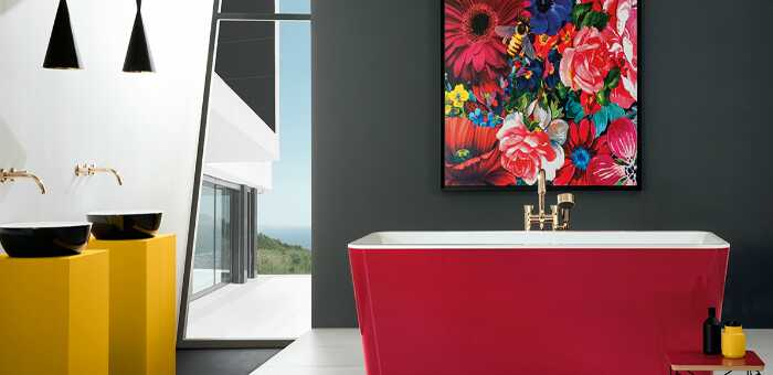 Интерьерные идеи ванной комнаты