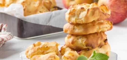 Яблочное домашнее печенье