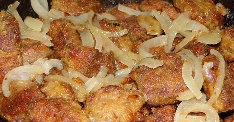 маринованная печень в панировке