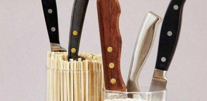 ножи на кухне
