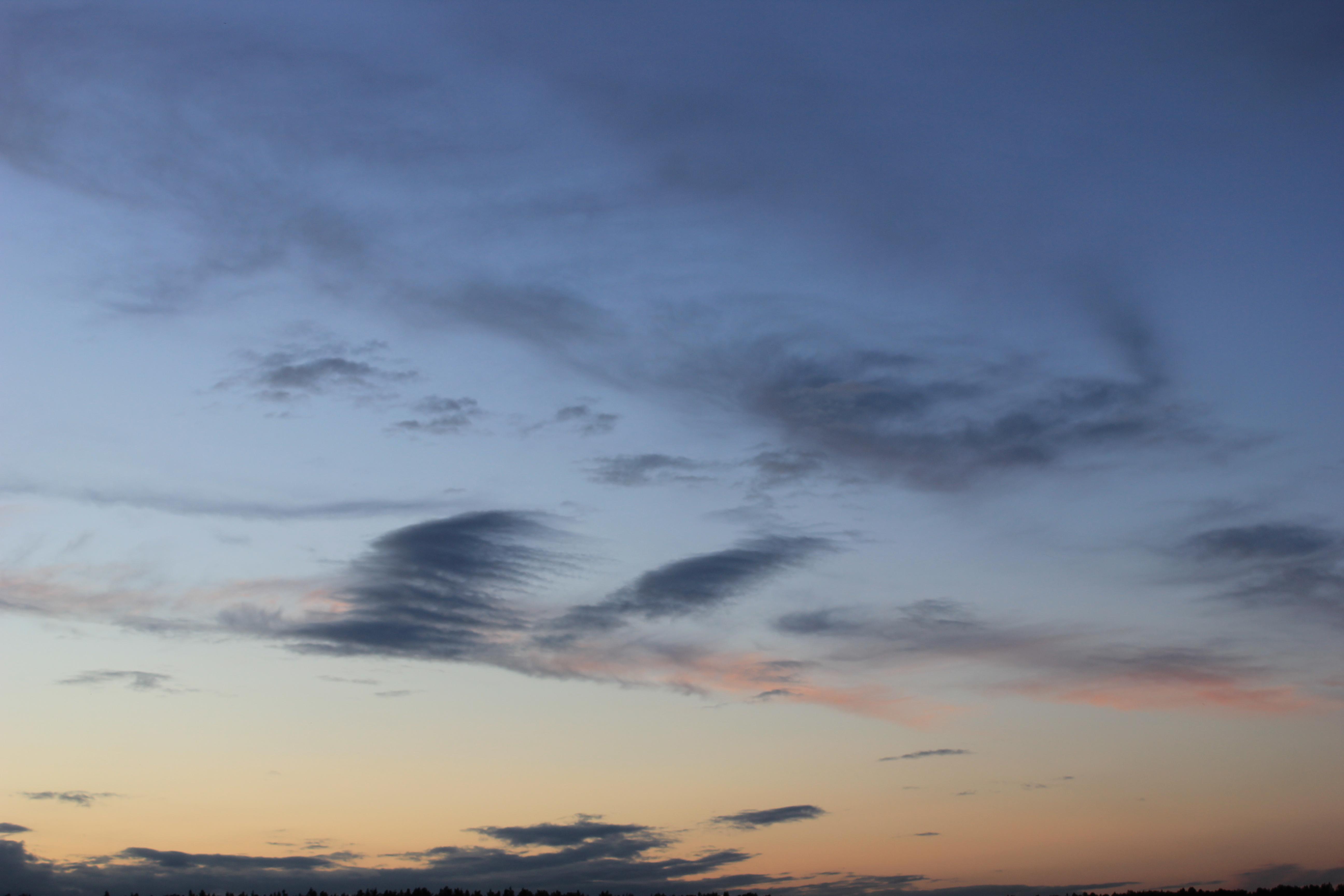 вечернее небо (6)