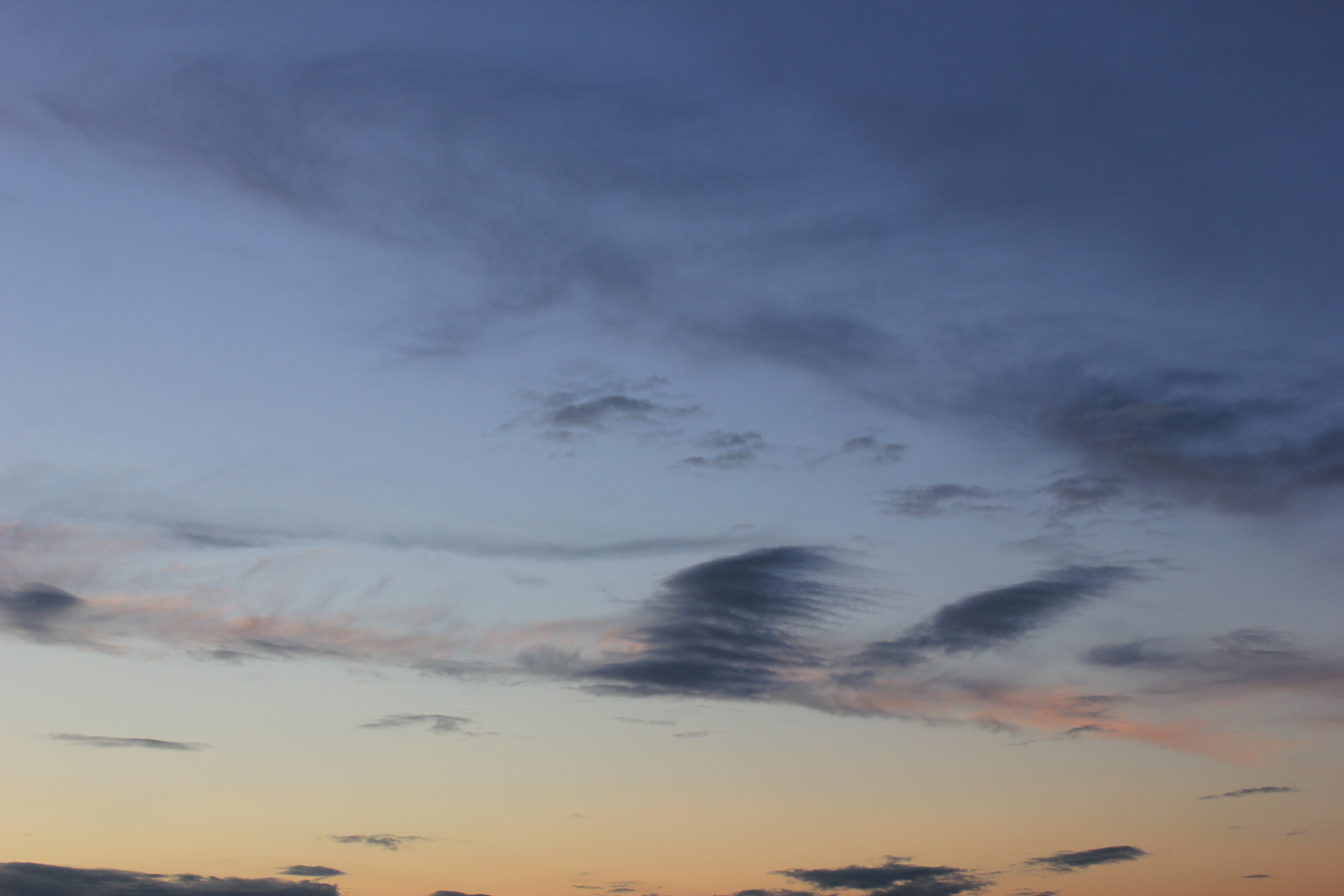 вечернее небо (7)