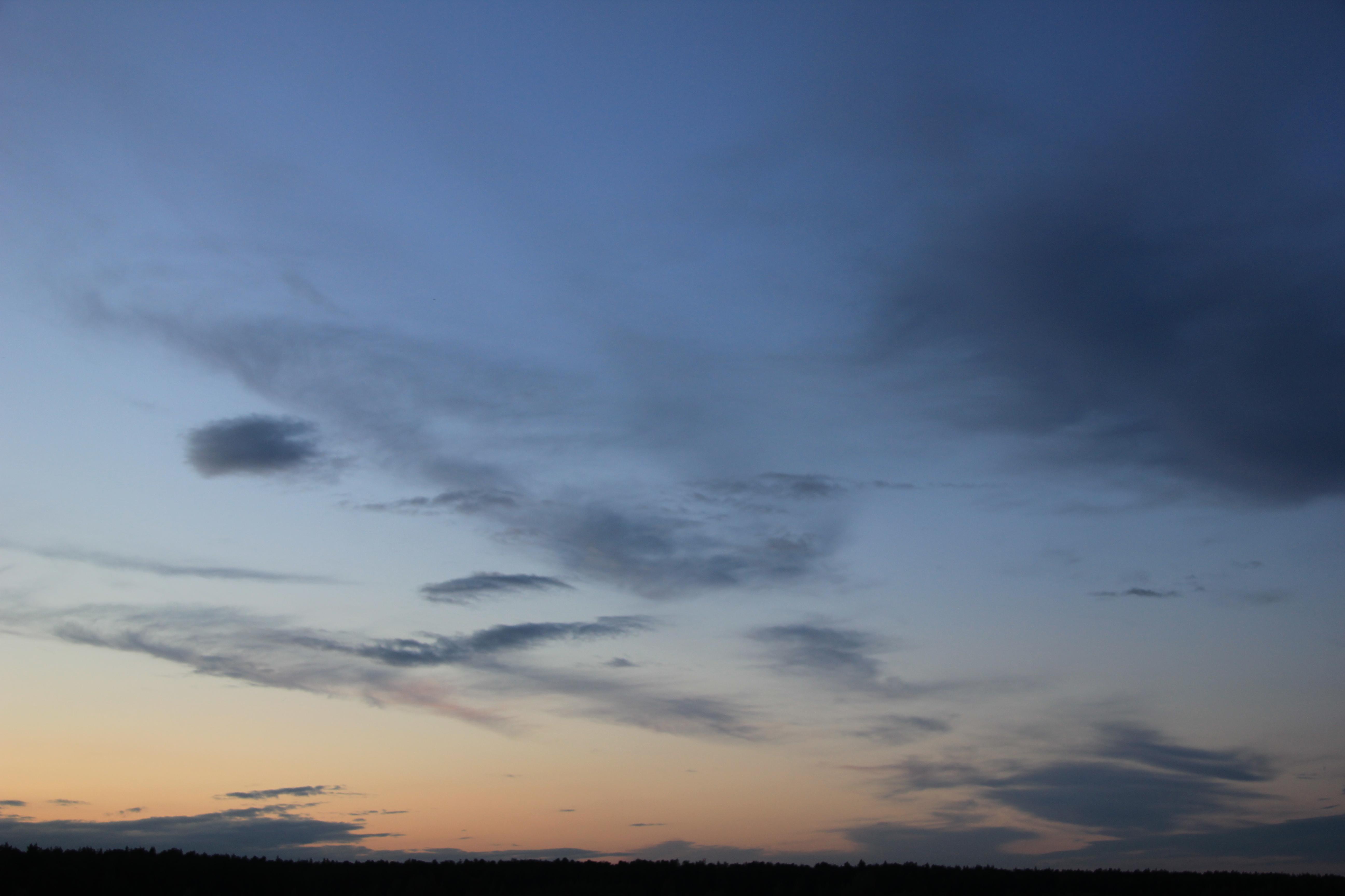 вечернее небо (86)