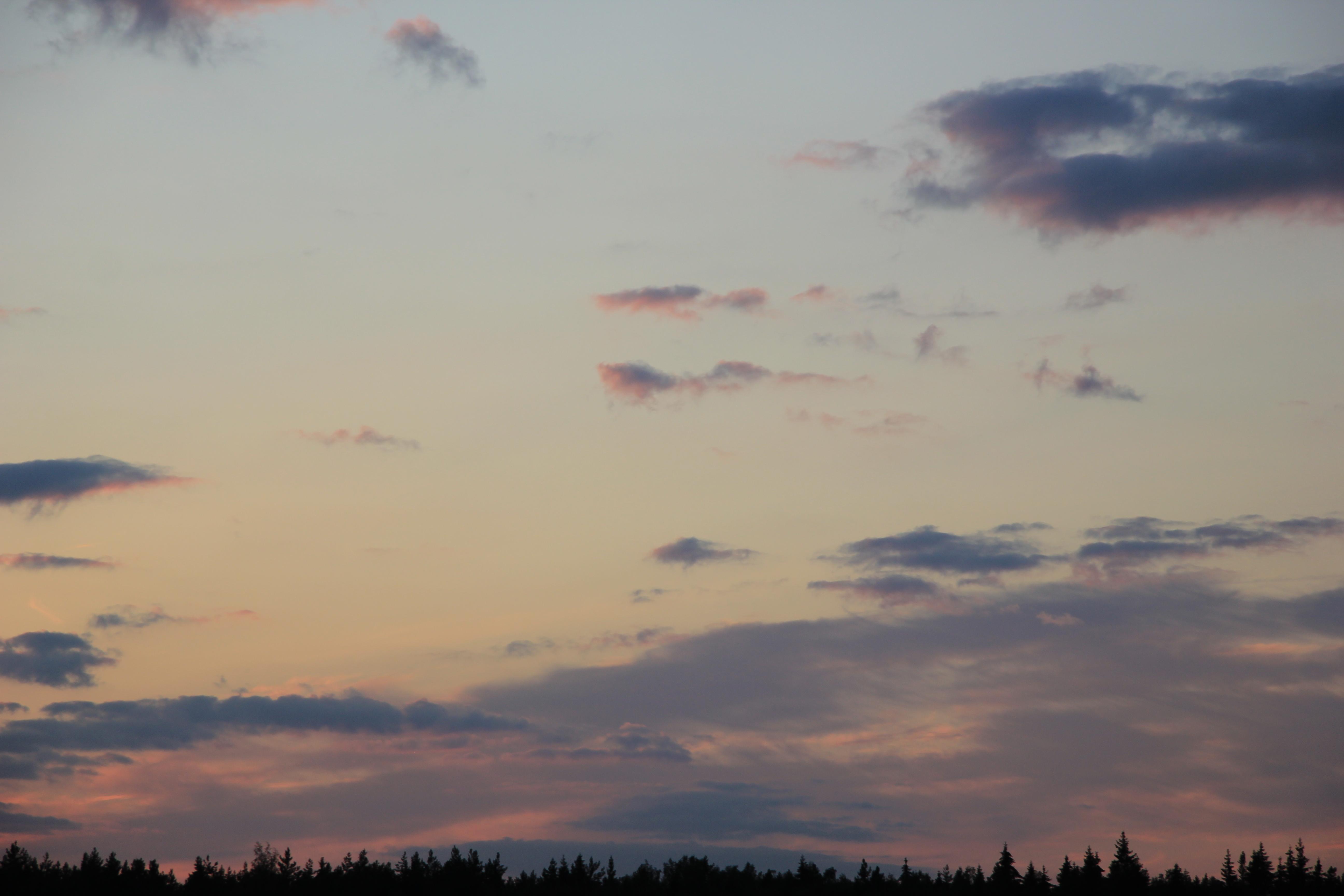 небо облака закат (1)