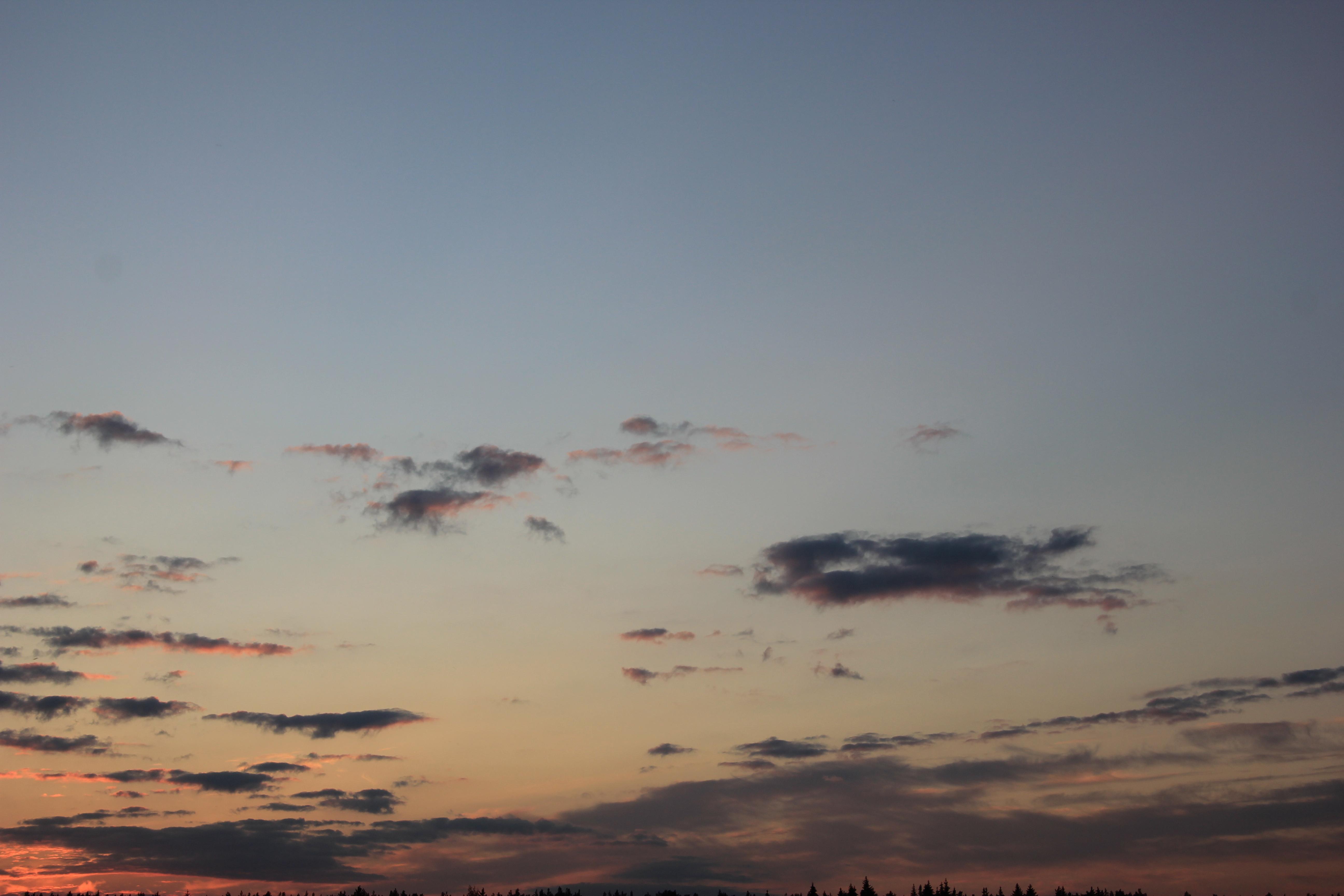 небо облака закат (10)