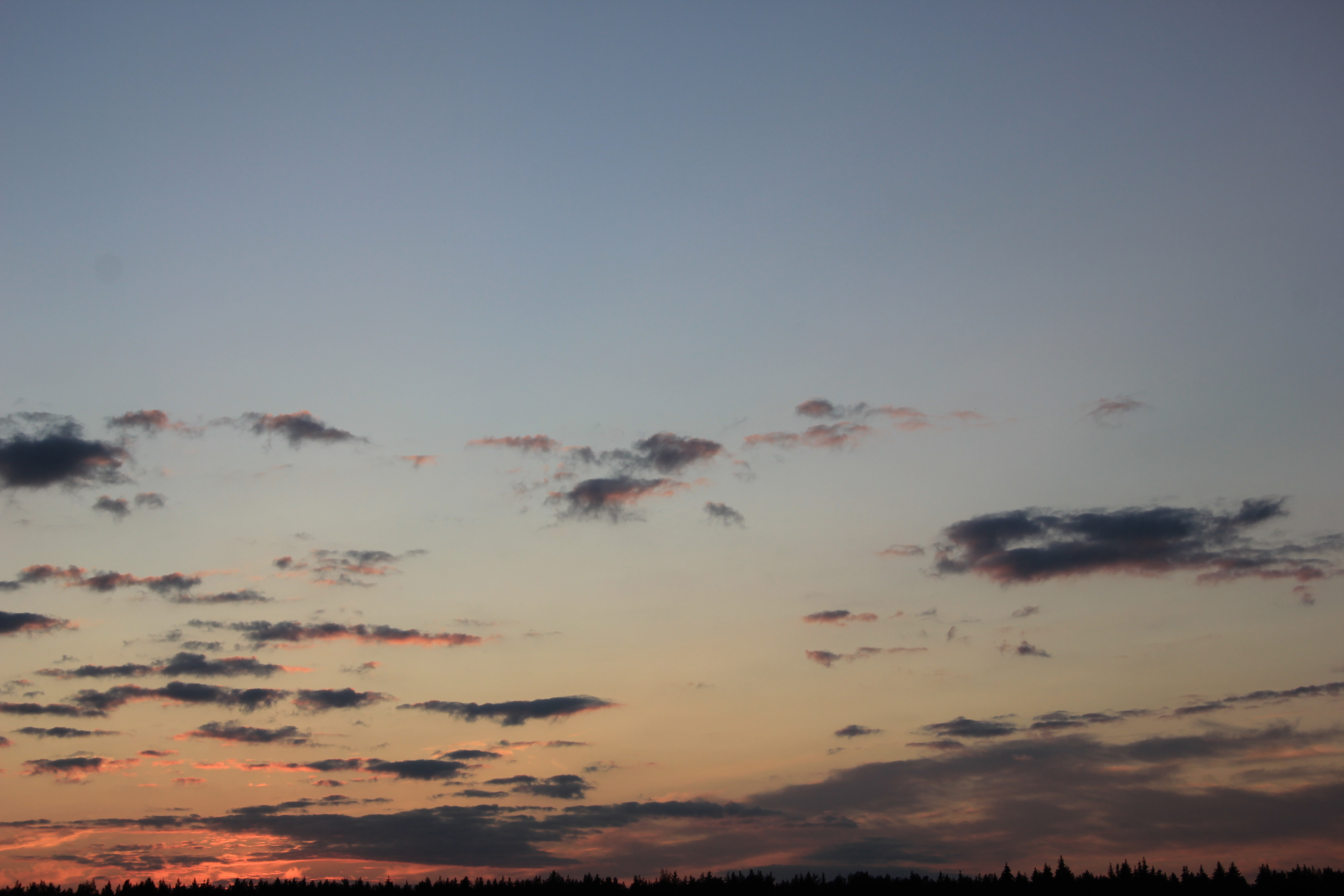 небо облака закат (11)