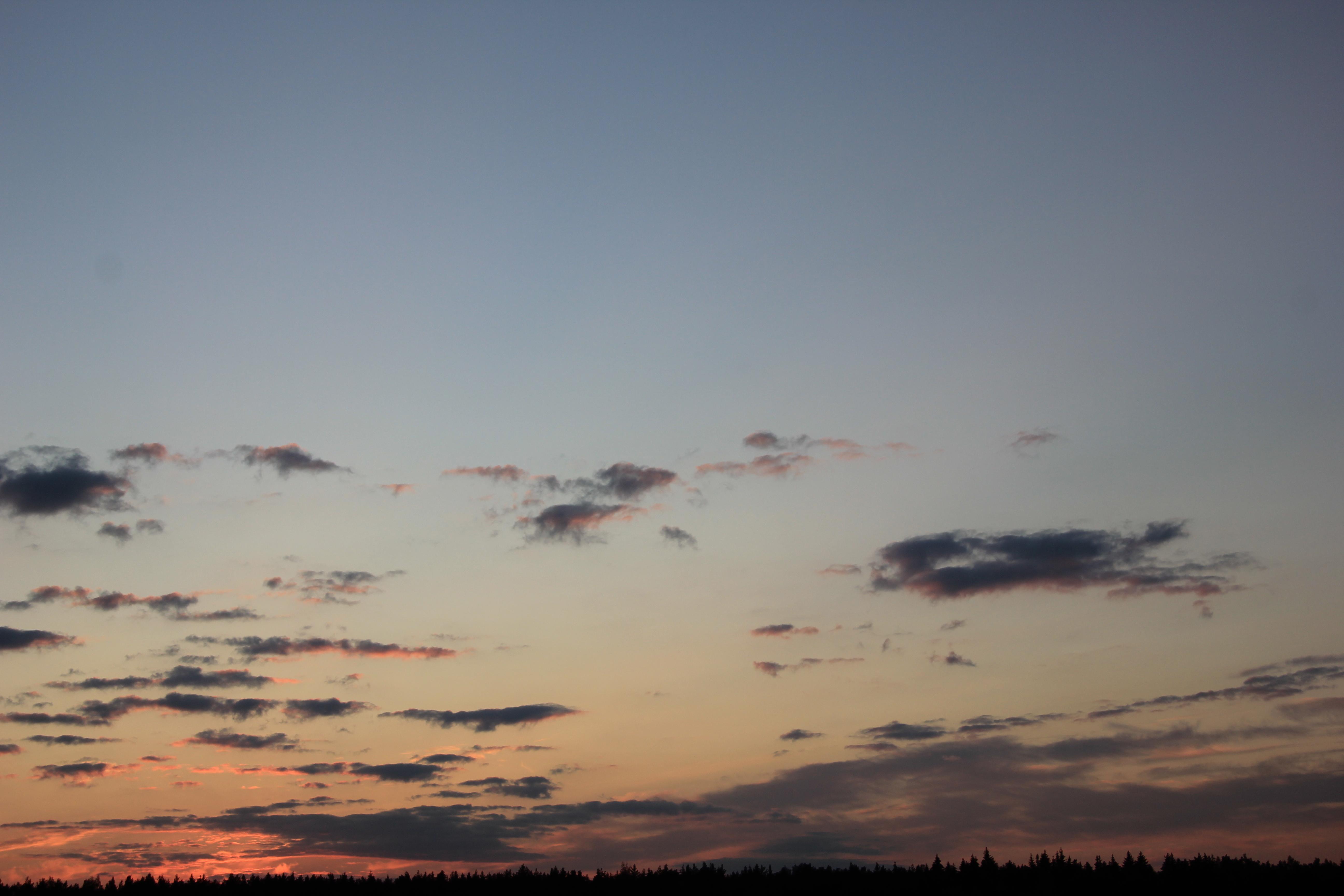 небо облака закат (12)