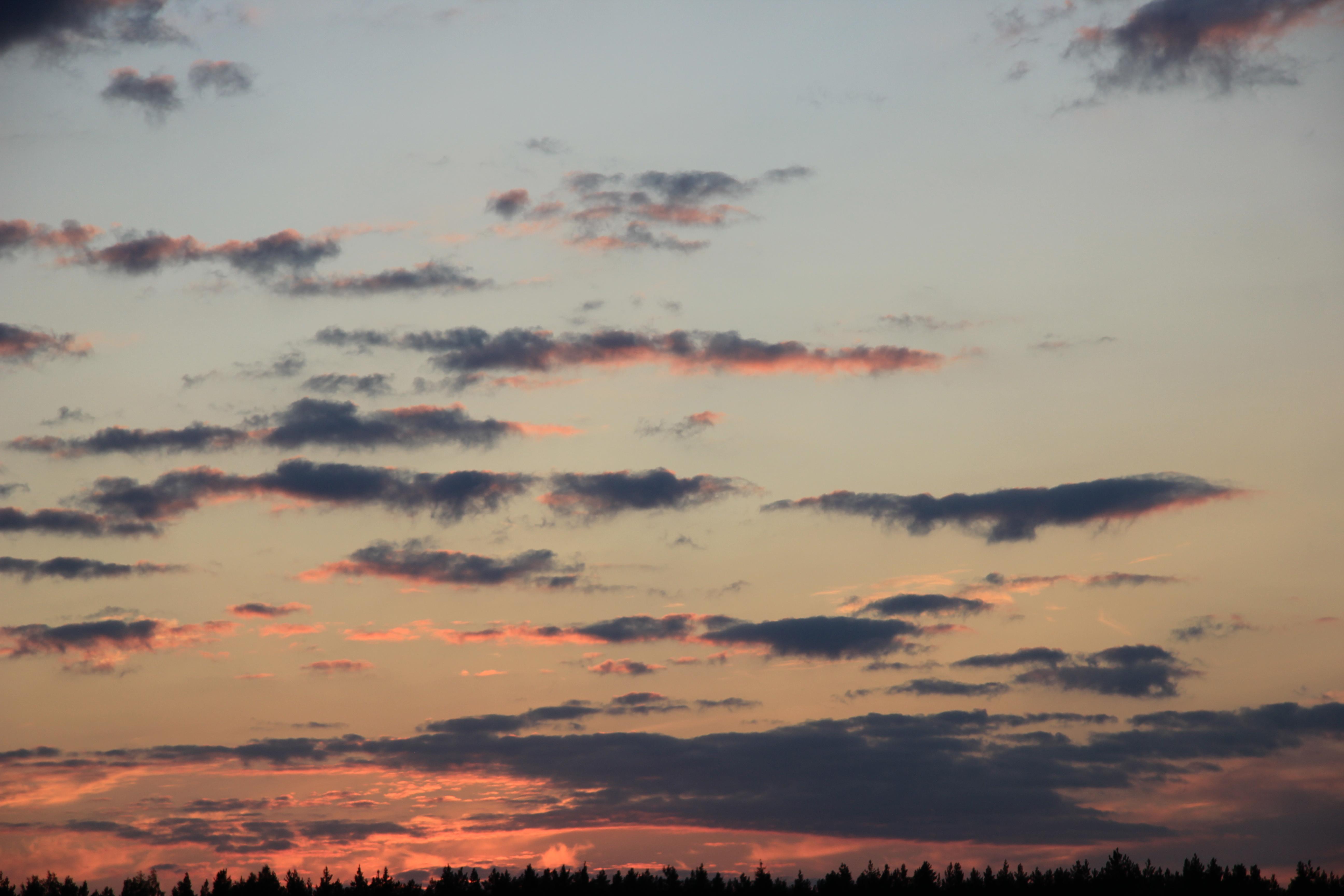 небо облака закат (13)