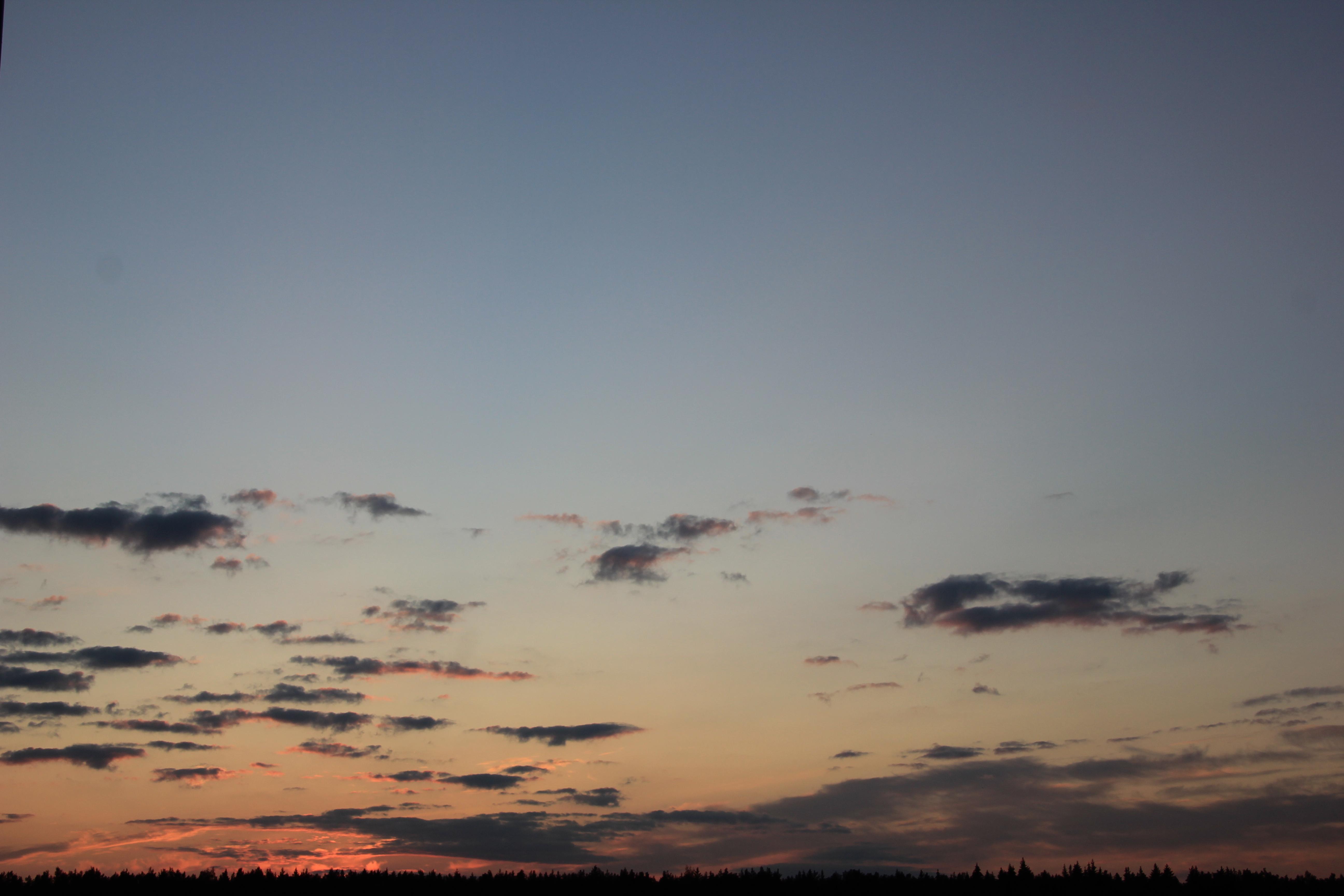 небо облака закат (17)