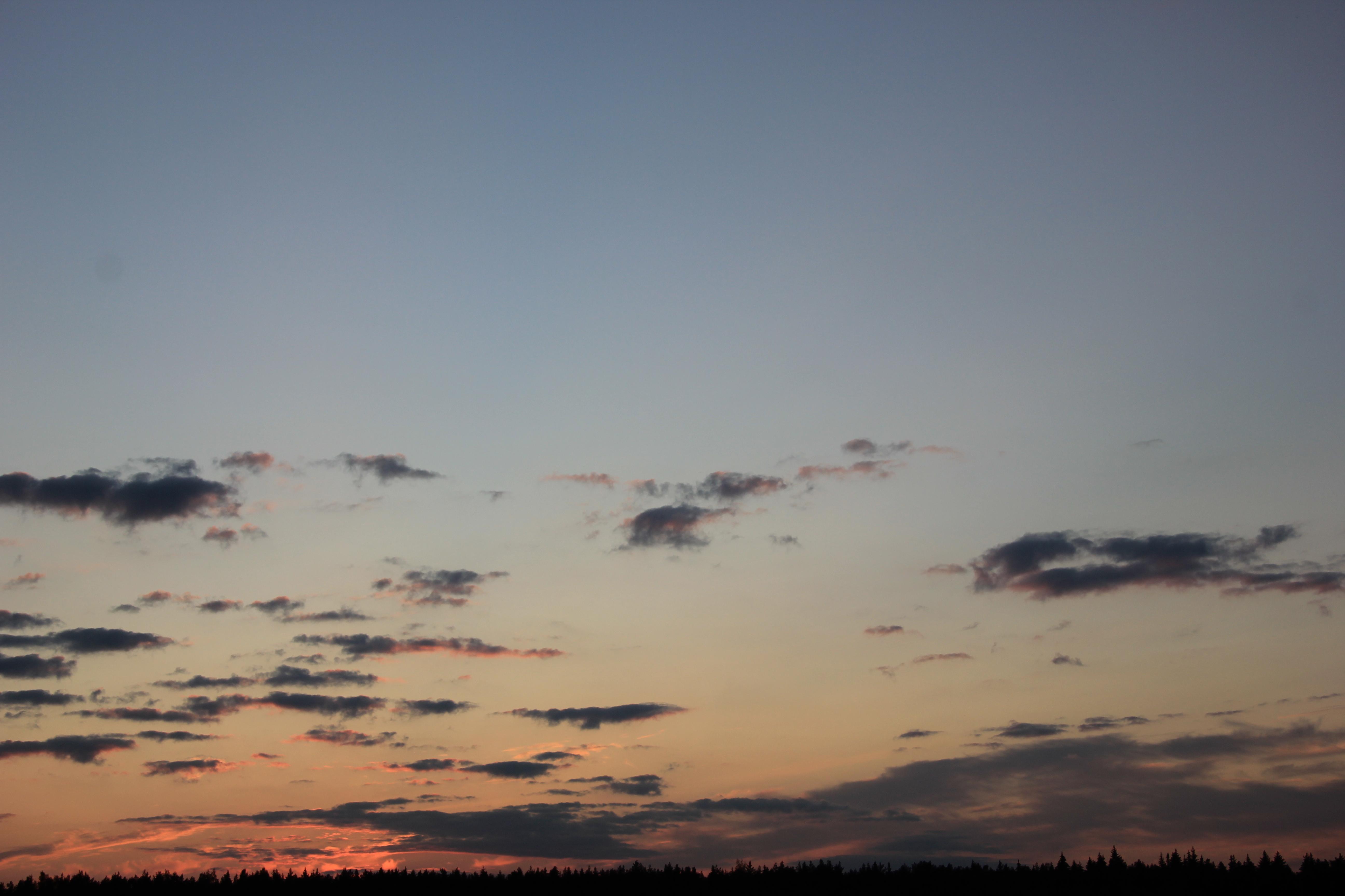 небо облака закат (18)