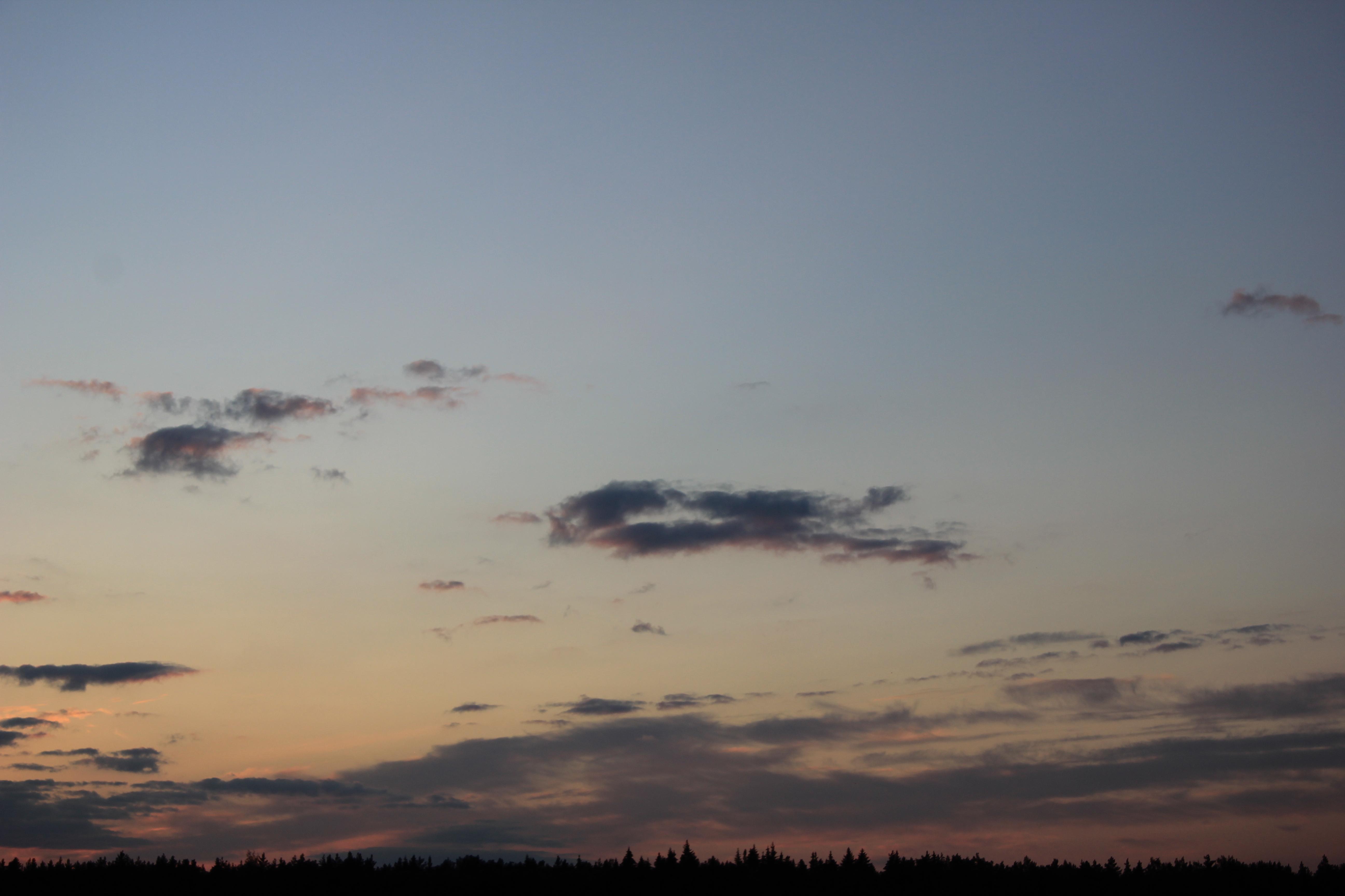 небо облака закат (19)