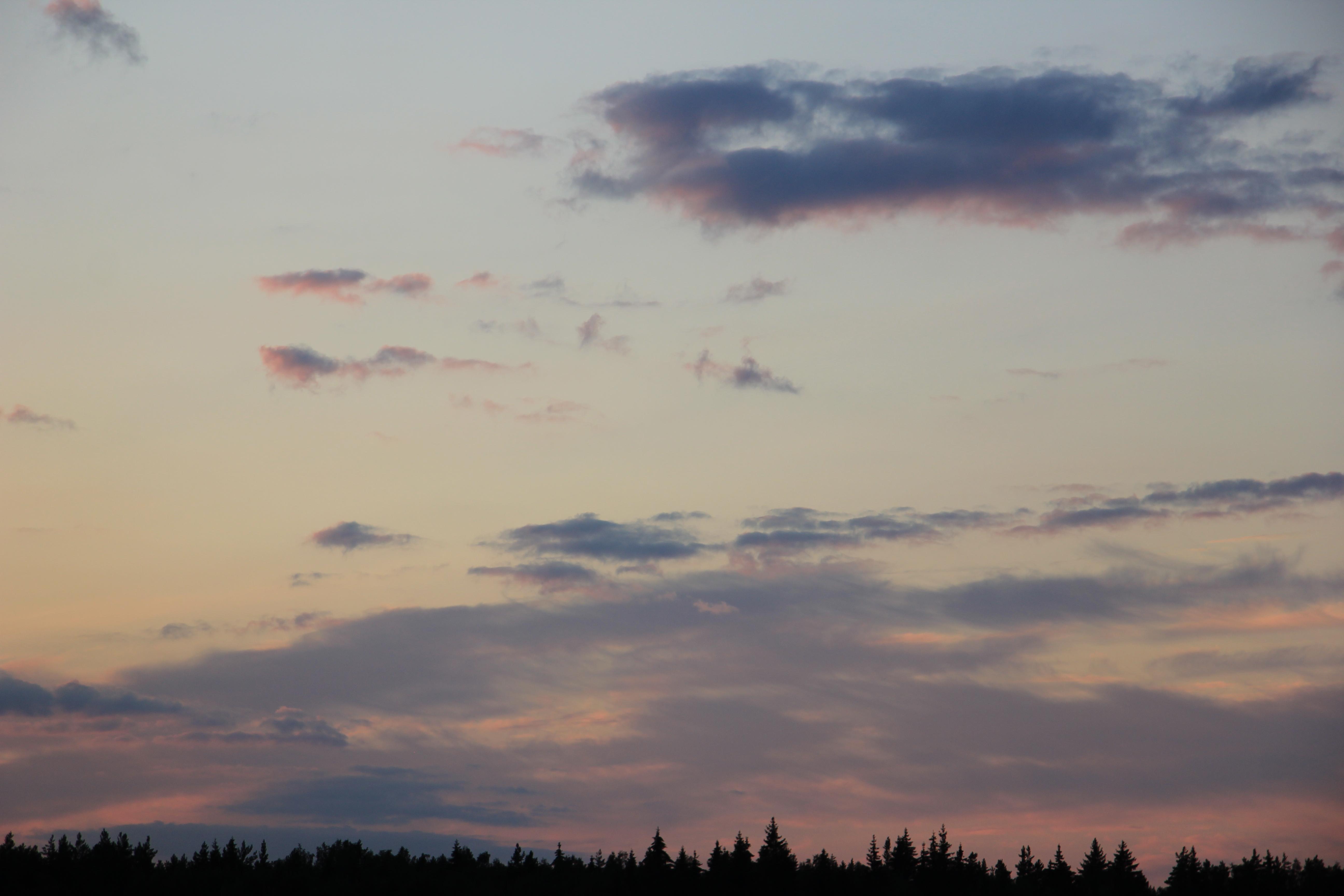 небо облака закат (2)
