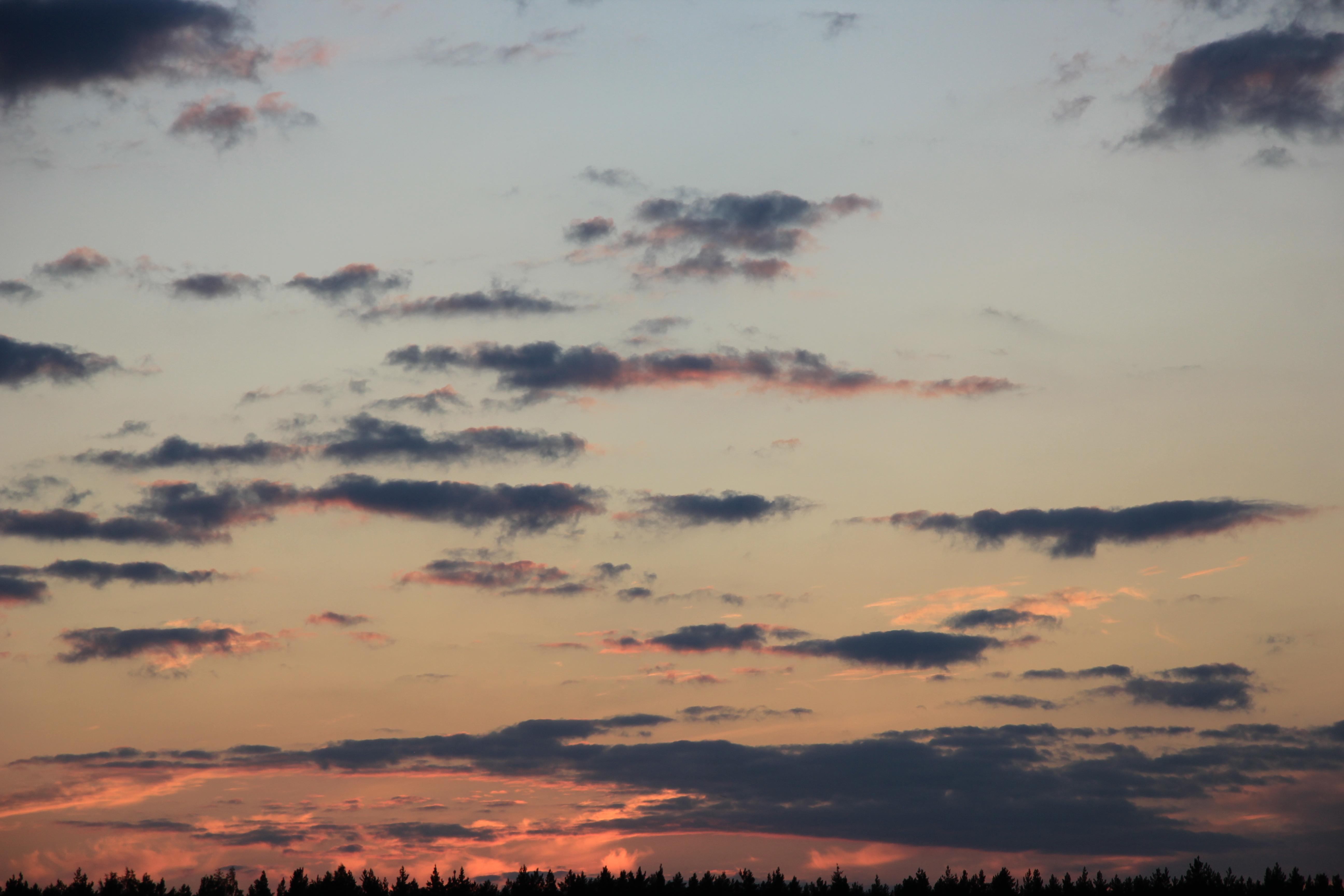 небо облака закат (20)