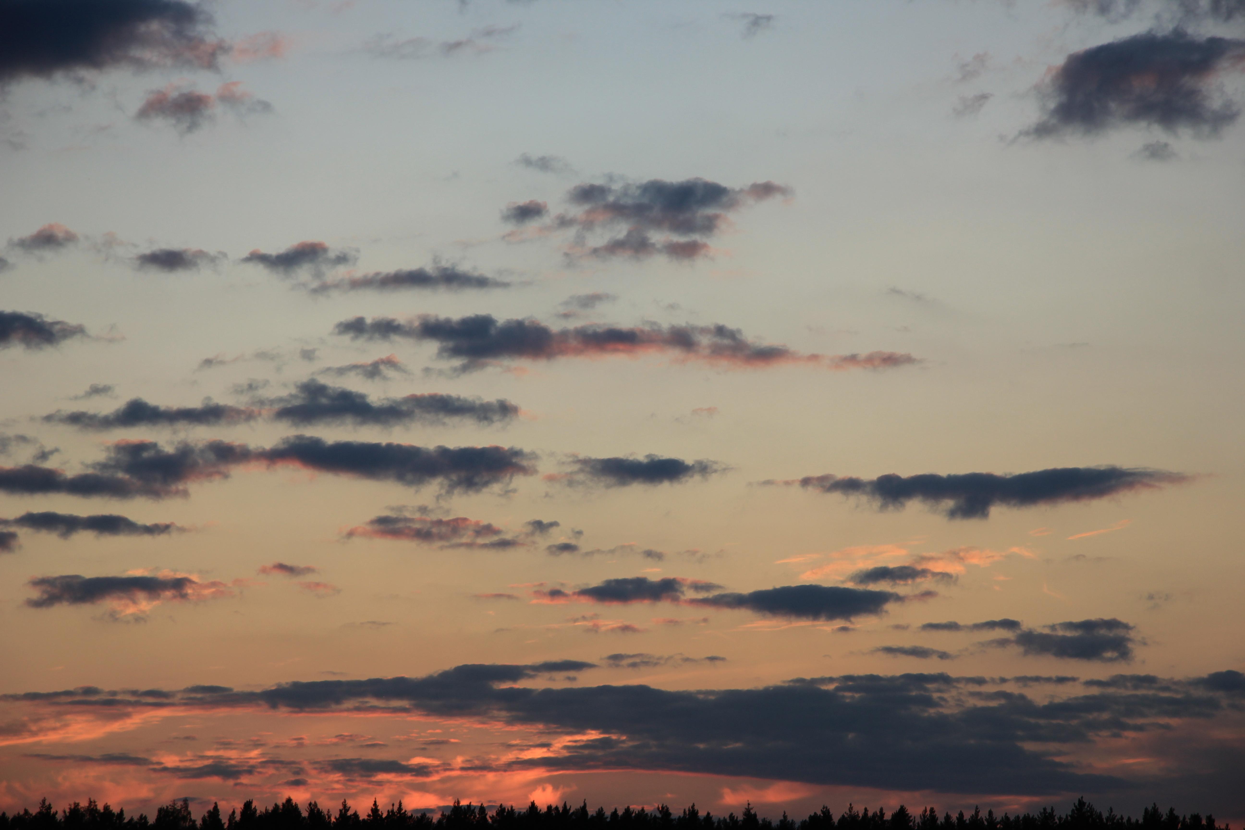 небо облака закат (22)