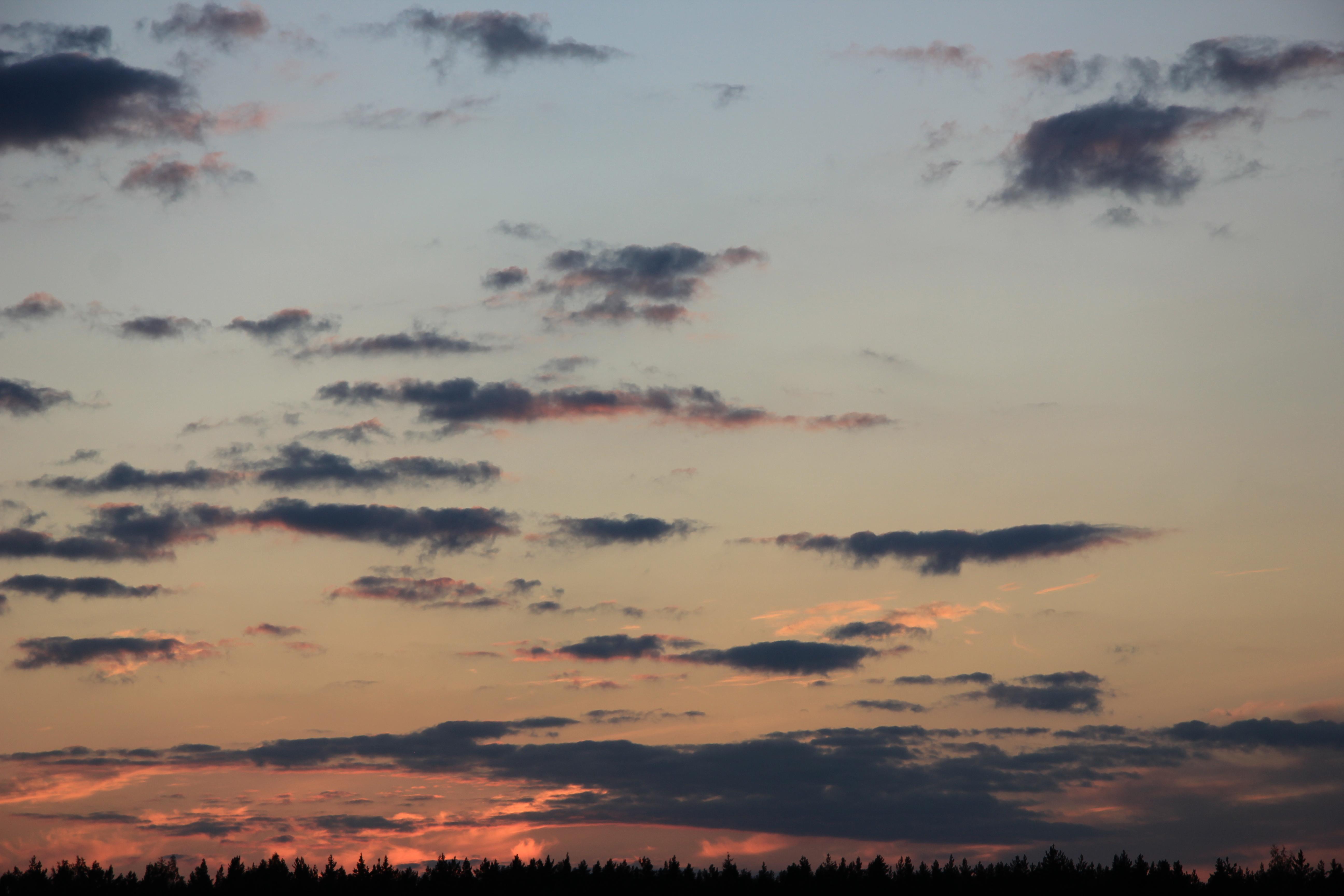 небо облака закат (23)