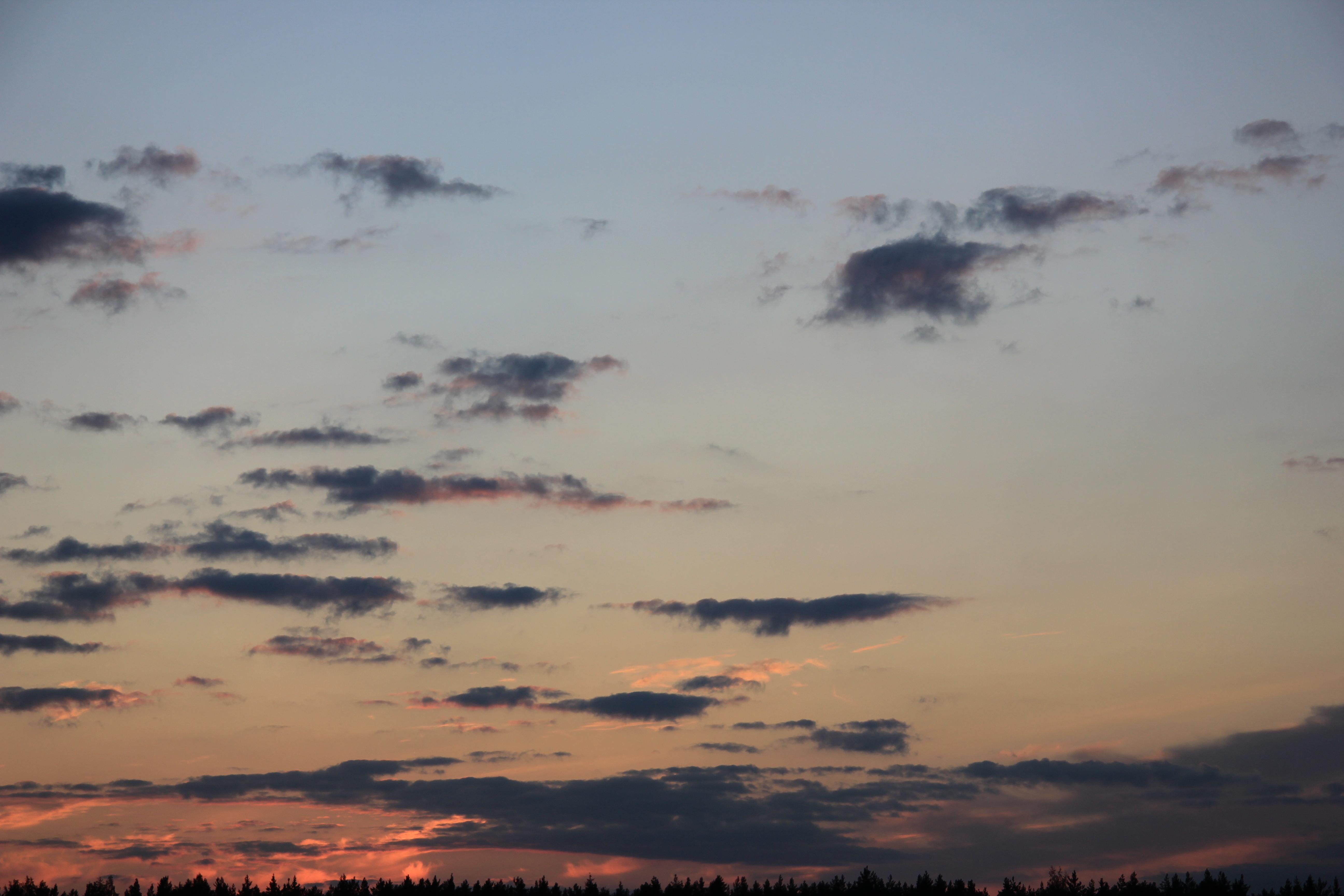 небо облака закат (25)