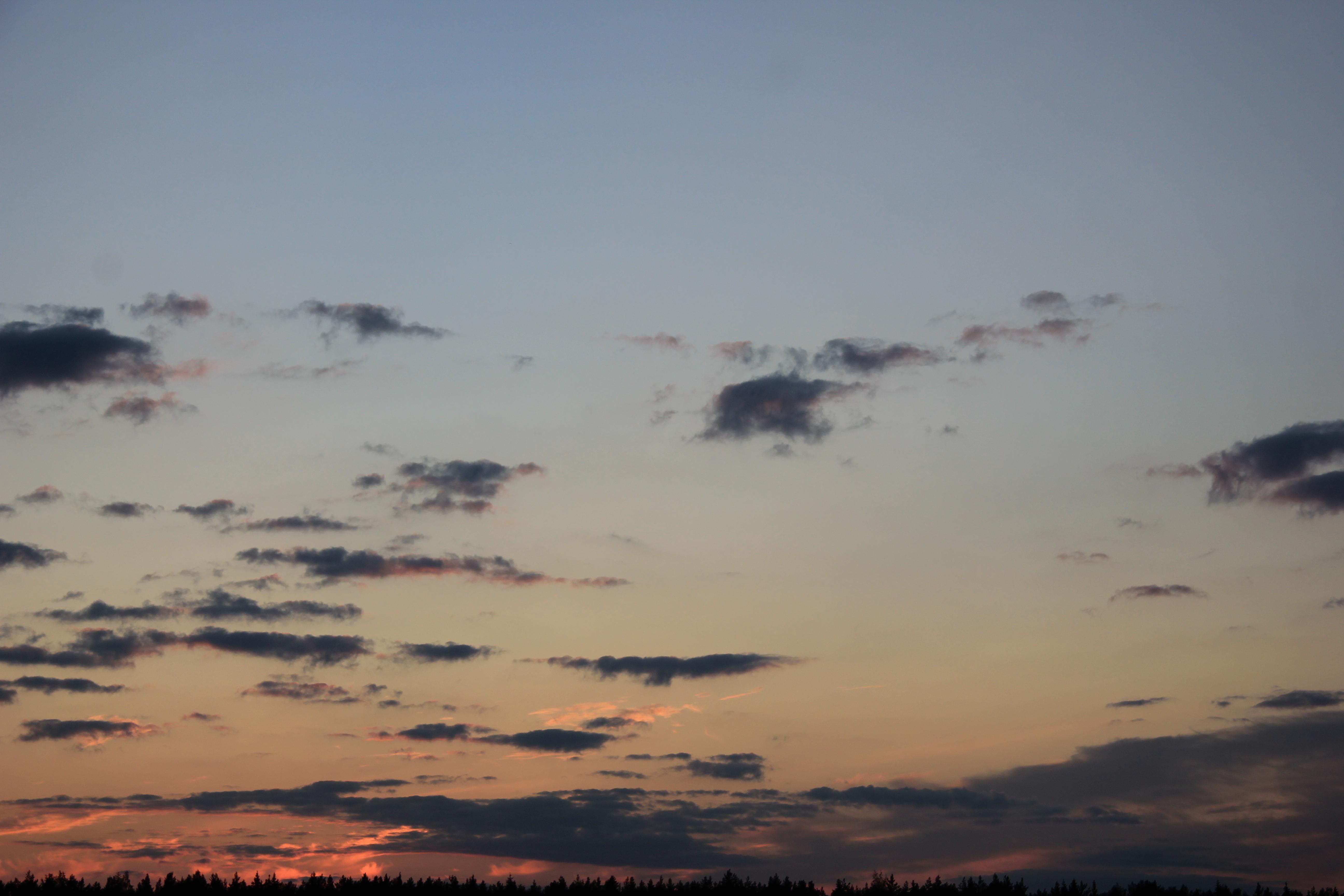 небо облака закат (26)