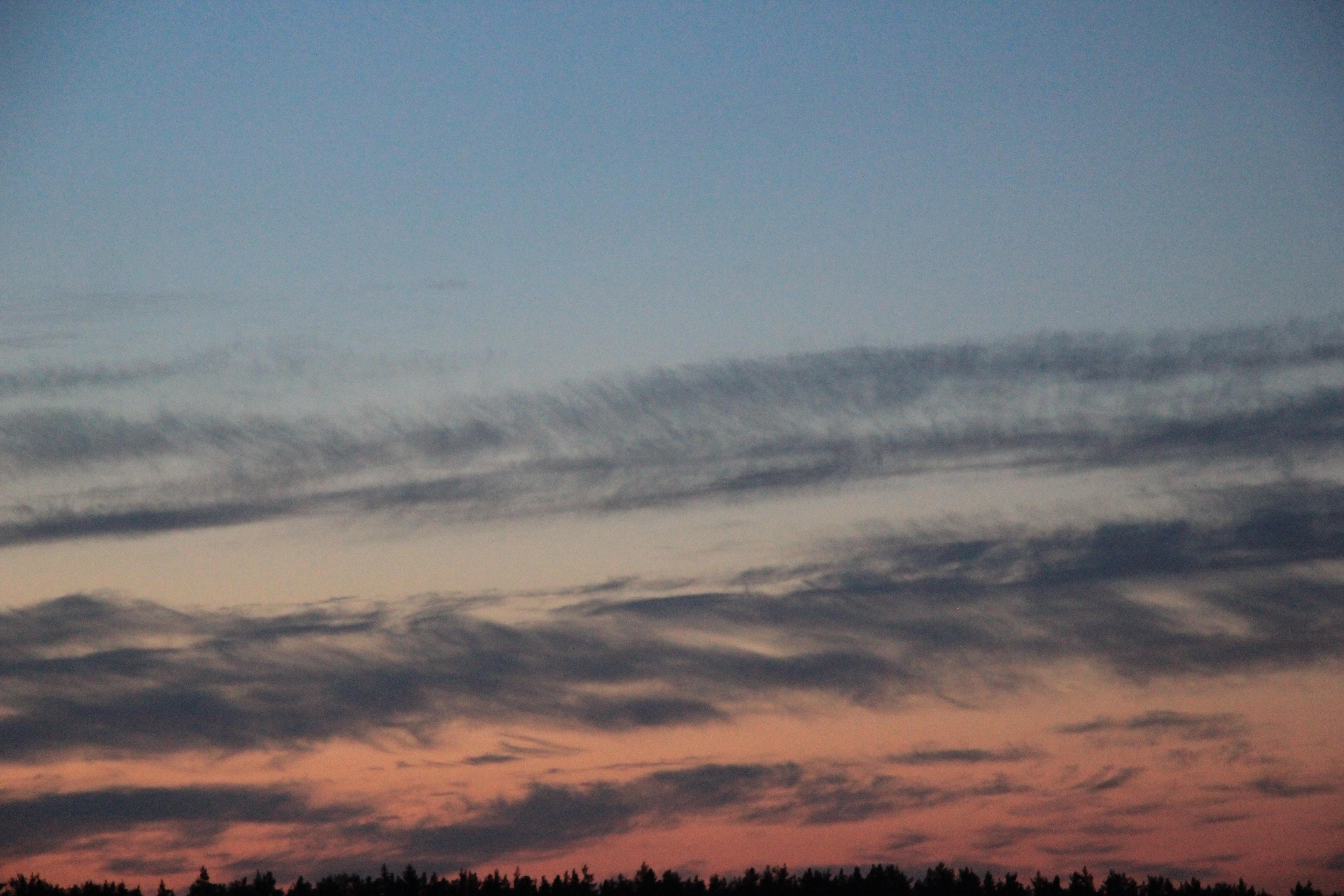 небо облака закат (30)